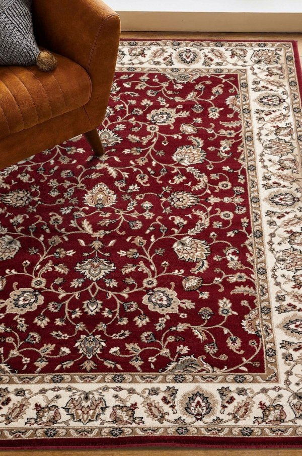 Beverly rug antique collection vintage area rug 2786 red