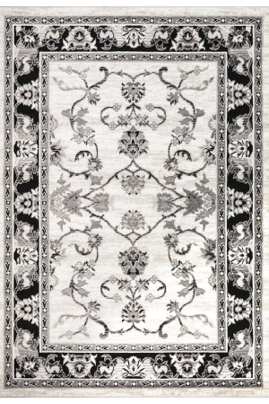 Beverly Rug Regal Collection Timeless Classic Traditional Area Rug 179 black bone