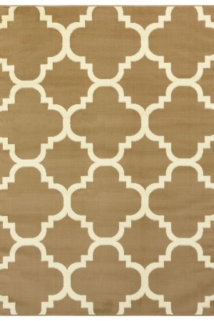 beverly rug princess collection moroccon trellis lattice area rug 810 cream and beige