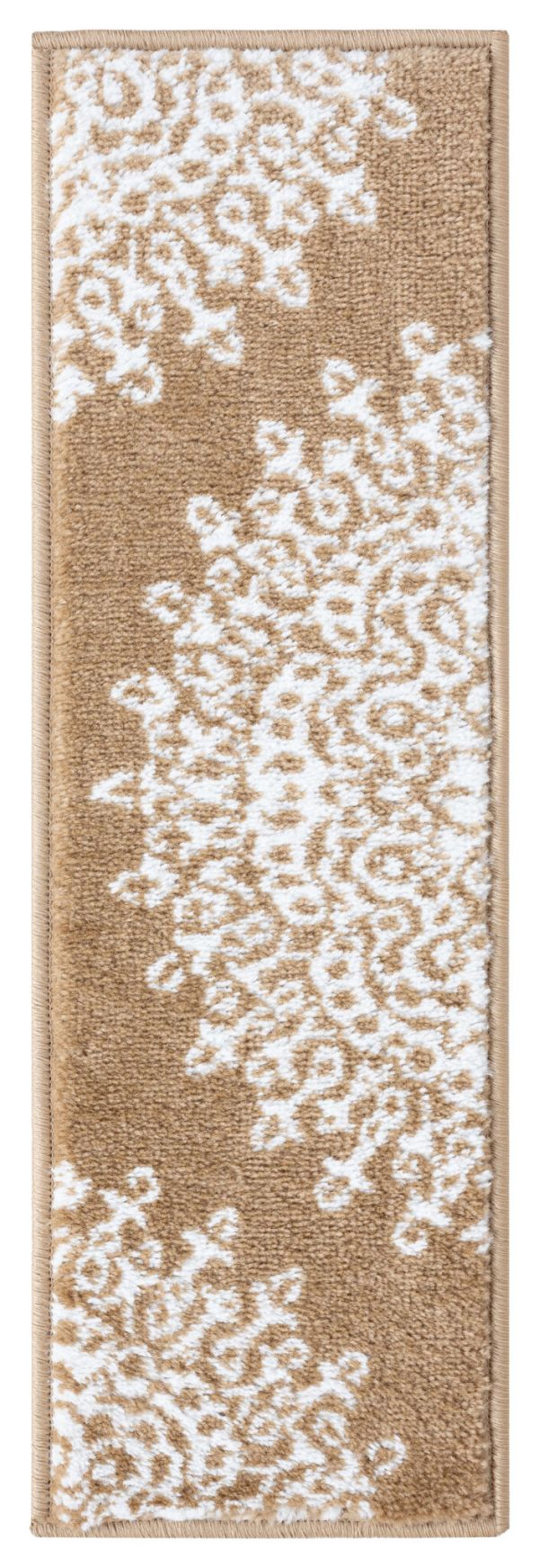 Beverly Rug Soft Rug Stair Treads Medallion Design - Beige