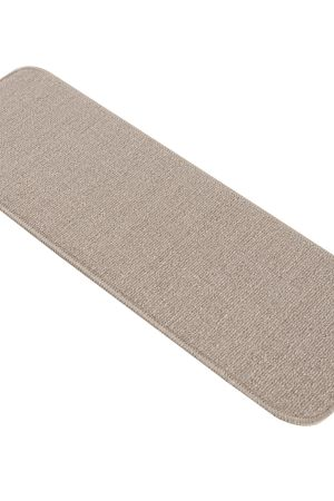 "Beverly Rug Solid Color Indoor Carpet Stair Treads 8.5""x26"" Beige"