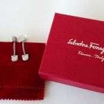 SALVATORE FERRAGAMO DANGLE EARRINGS