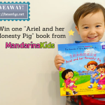 "1 of 5 ways to engage your child with ""Ariel and Her Honesty Pig"" by MandarinaKids (plus Giveaway & 25% storewide discount!)"