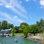 SWITZERLAND: Strandbad Tiefenbrunnen, where the park meets the lake