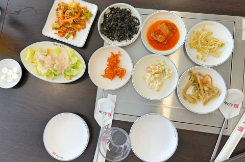 Ju shin jung Korean restaurant