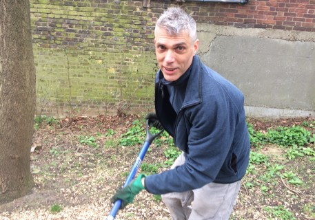 Chief Gardener Tim