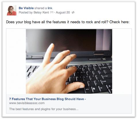 business blog, betsy kent, be visible