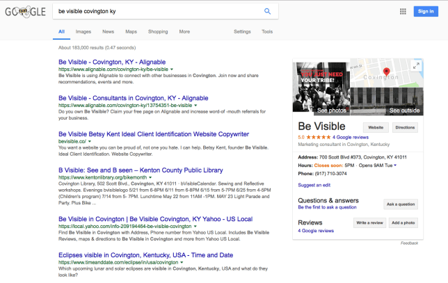 How To Get Business Reviews On Google Be Visible Betsy Kent