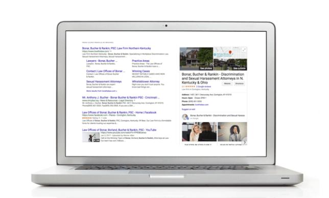 google my business, seo, google listings, betsy kent, be visible