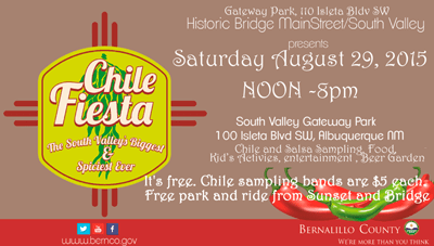 Chile Fiesta 2015 Albuquerque South Vallley