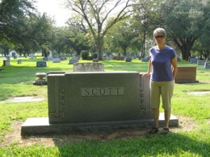 Historical Fiction Page - Scott Gravesite