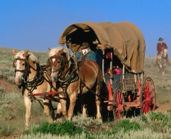 Historical Fiction Page - Wagon