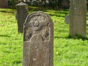 old cemetery headstone