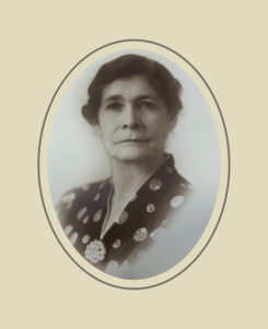 Grandma Scott, portrait