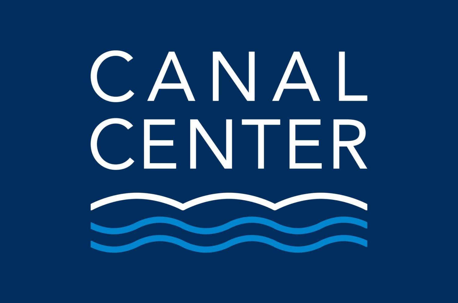 Canal Center Reversed Logo