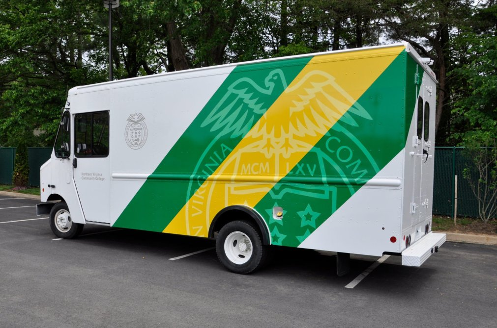 Northern Virginia Community College Truck