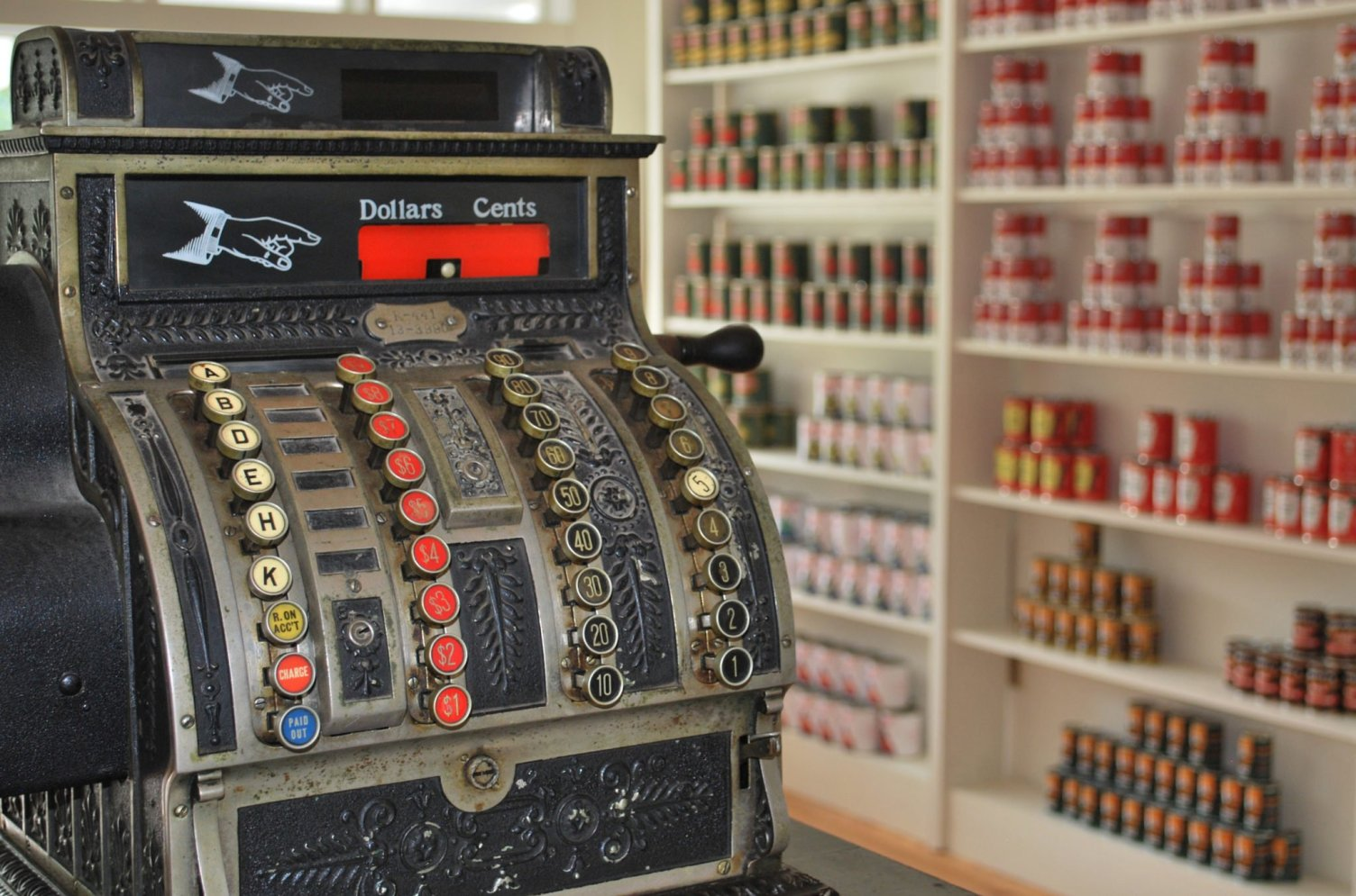 Shawnee Town Cash Register