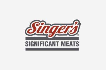 Singer's Significant Meats Logo
