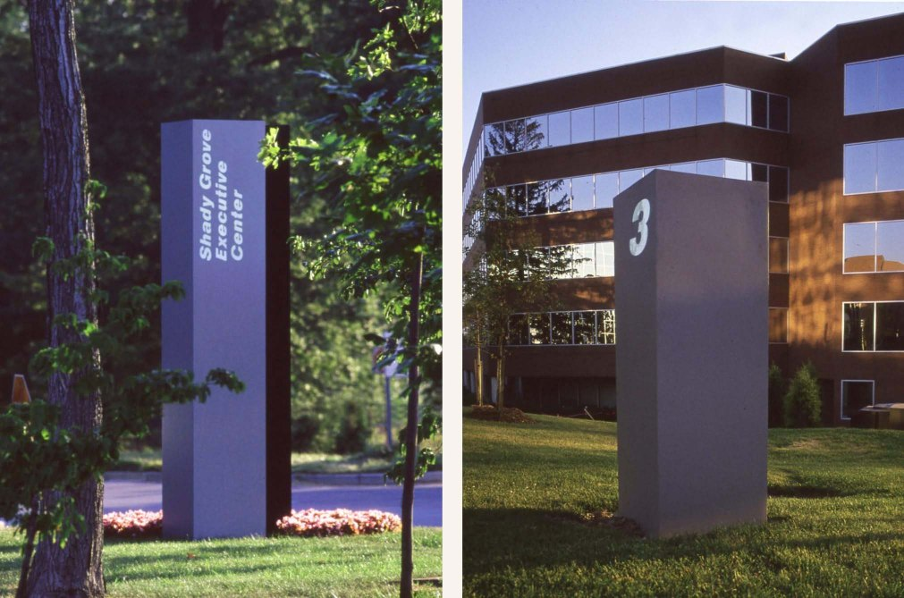 IBM Exterior Signs