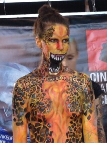 Make-up of Monsterpalooza at Son of Monsterpalooza in Burbank on September 19, 2015.