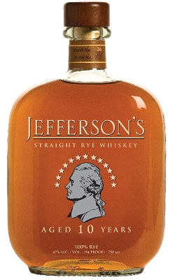 jefferson's rye whiskey