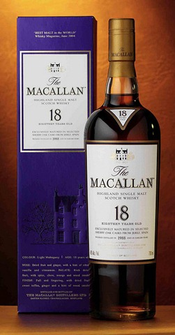 the macallan 18 scotch whisky
