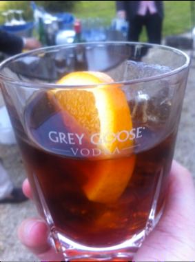 grey goose french negroni