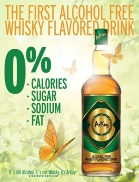 would you drink alcohol free whiskey
