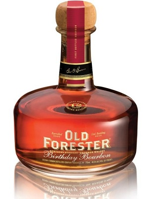 2012 old forester birthday bourbon