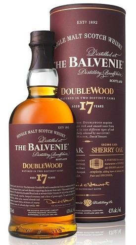 The Balvenie 17-Year DoubleWood Scotch