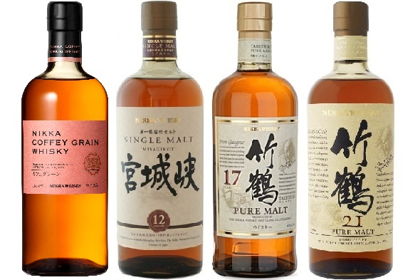 nikka japanese whiskies