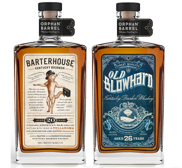 barterhouse and old blowhard bourbons