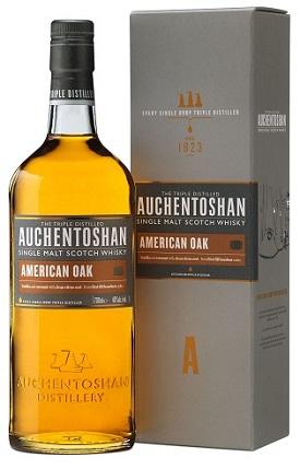Auchentashon American Oak With  Glasses