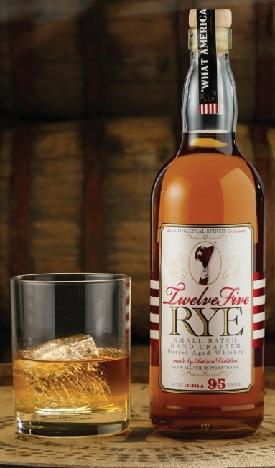 twelve five rye whiskey