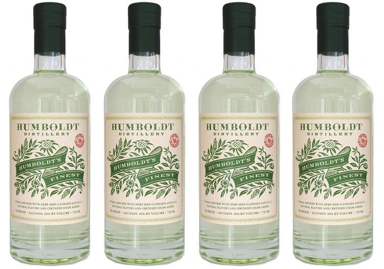 humboldt's finest cannabis vodka