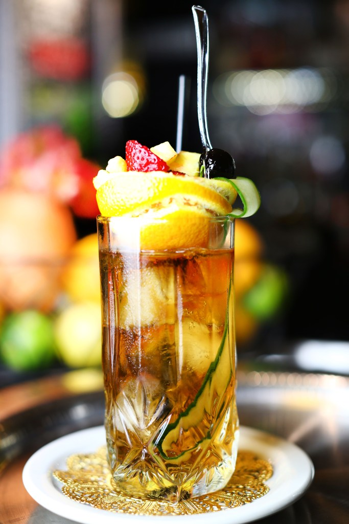 pimm's cup bourbon o bar