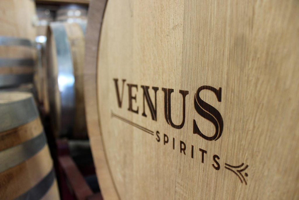 venus spirits barrel