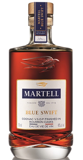 martell blue swift cognac