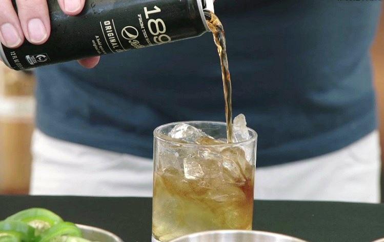 pepsi 1893 pineapple heat cocktail