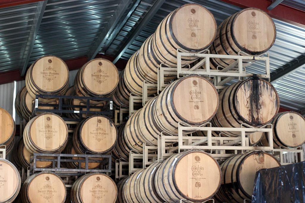 corbin cash barrels rickhouse