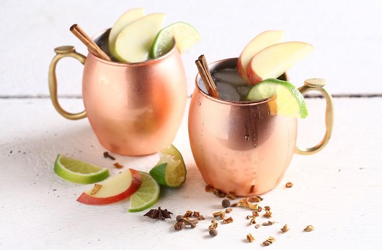 mulled cider mule