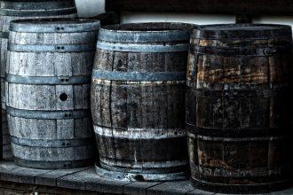 rye whiskey barrels