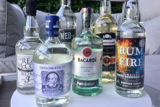 white rum brands