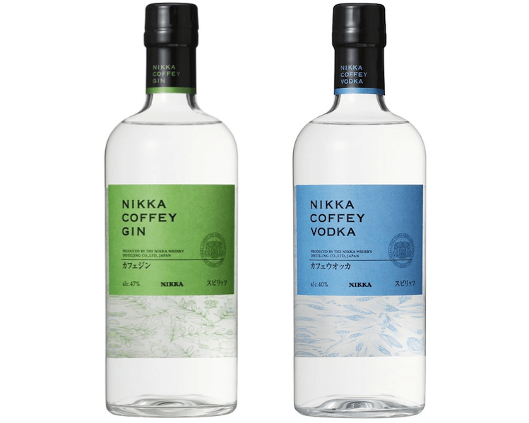 nikka coffey vodka and gin