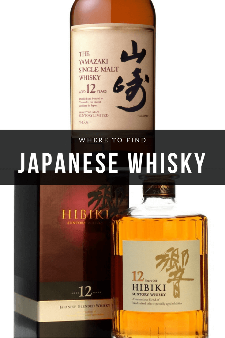 Where to find Japanese Whisky | Bevvy