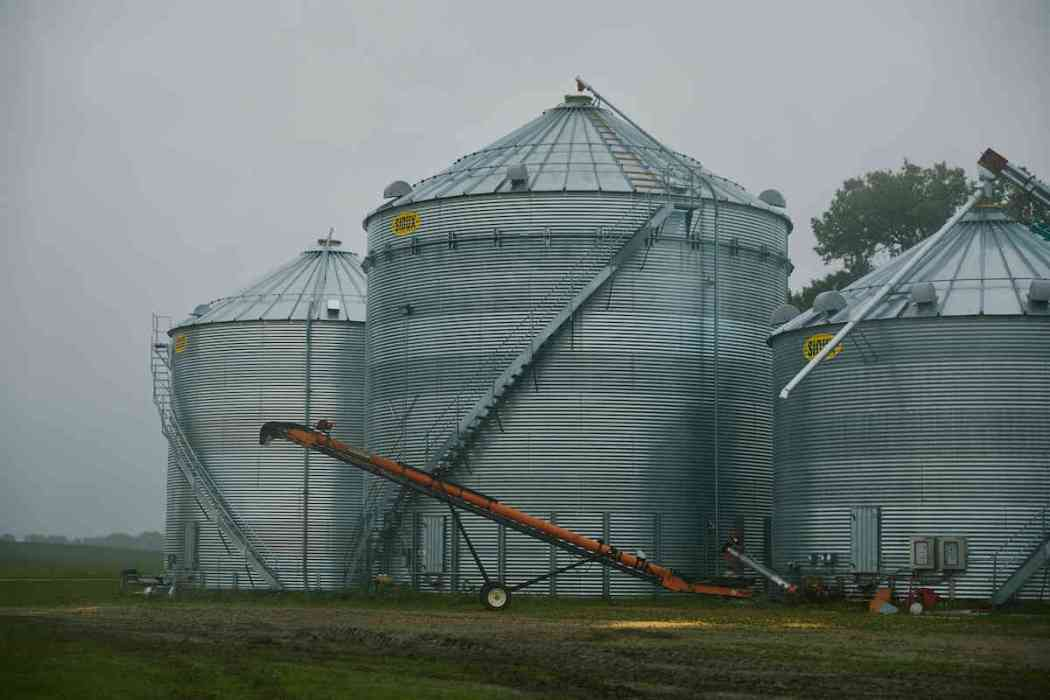 Sather Organic Farms Silos