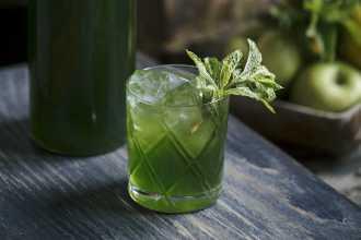 Green Machine cocktail