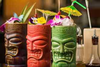 tiki and tropical drinks