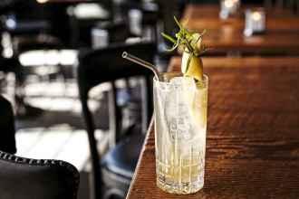 Gin Highball Saratoga