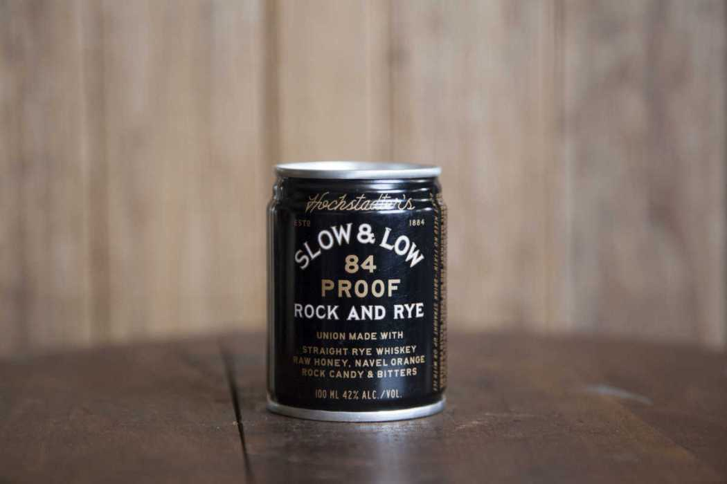 Slow & Low Rock and Rye Can